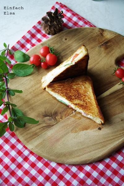 Tomte-Mozzarella-Sandwich