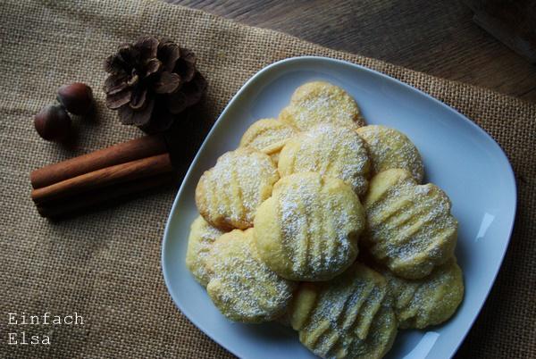 Vanillepuddingpulver-Kekse