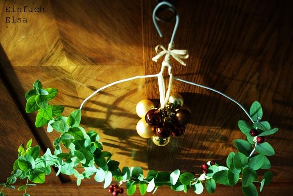 Weihnachten-Dekoration-Kleiderbügel