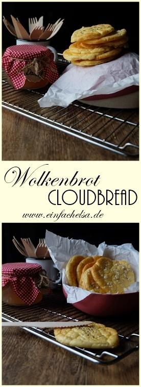 Wolkenbrot - auch Cloudbread genannt - mit einem Superfood-Topping