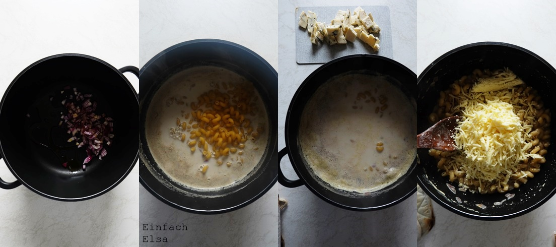 Zubereitung-Gorgonzola-One-Pot-Pasta