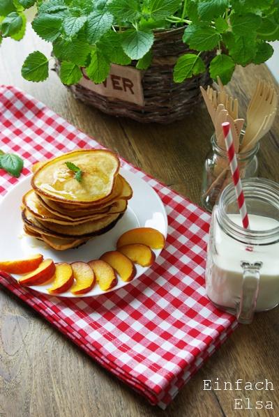 einfache Pancakes mit Buttermilch
