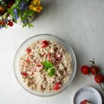 einfacher-Reissalat