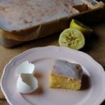 {Kuchen&Torten} Saftiger Zitronenkuchen vom Blech