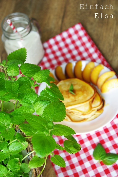 schnelle Buttermilch Pancakes