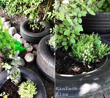 upcycling-Minihochbeet-aus-Autoreifen